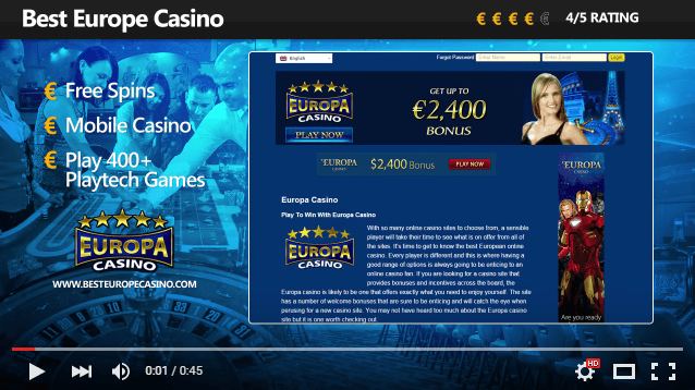 Best casino european online gambling money
